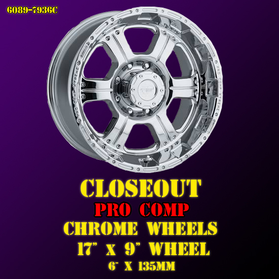 Pro Comp Xtreme Alloy Wheel 6089-7936