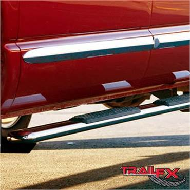 Trail Fx Oval Stainless Steel Nerf Bars